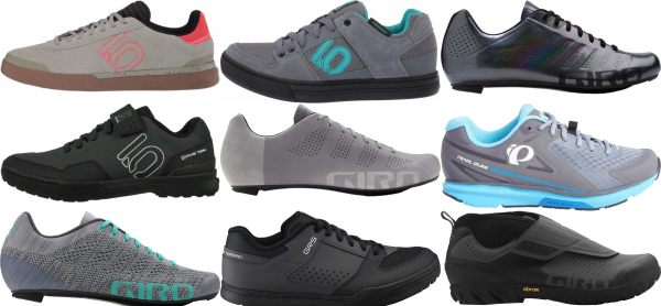 buy grey lace cycling shoes for men and women