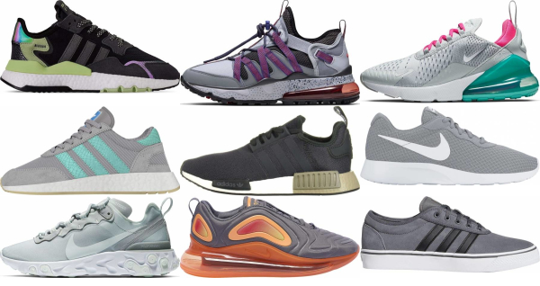 buy grey laces sneakers for men and women