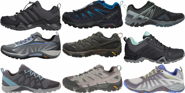 buy grey lightweight hiking shoes for men and women