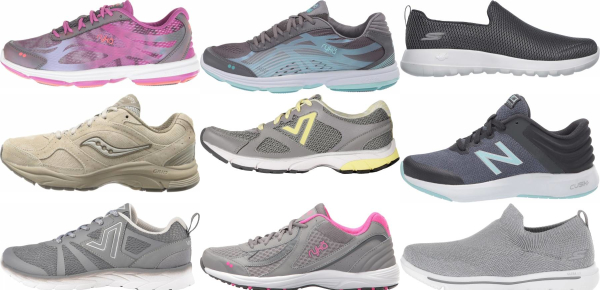 buy grey lightweight walking shoes for men and women