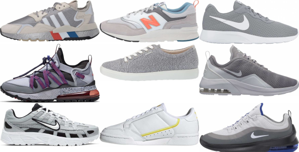 buy grey low top sneakers for men and women