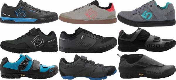 buy grey mountain cycling shoes for men and women