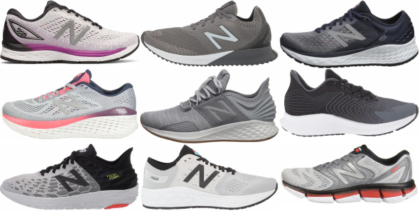 buy grey new balance running shoes for men and women