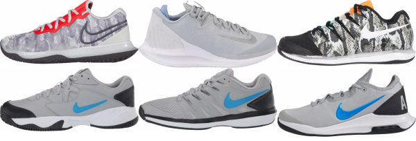 buy grey nike tennis shoes for men and women