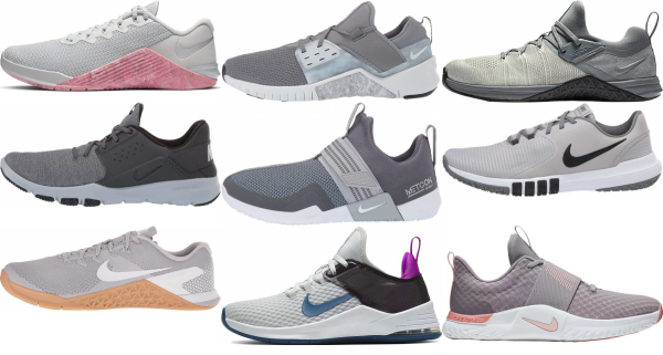buy grey nike training shoes for men and women