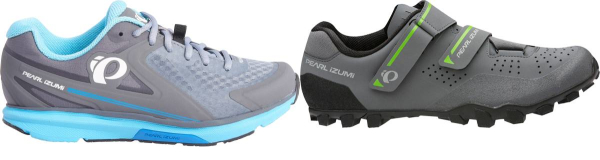 buy grey pearl izumi cycling shoes for men and women