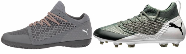 buy grey puma soccer cleats for men and women