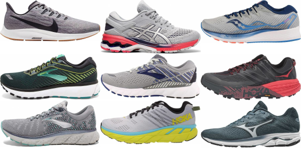 buy grey running shoes for men and women
