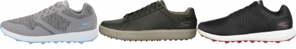 buy grey skechers golf shoes for men and women
