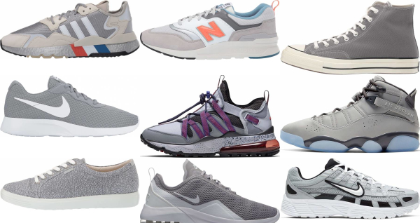 buy grey sneakers for men and women