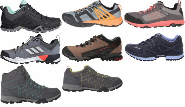 buy grey speed hiking shoes for men and women