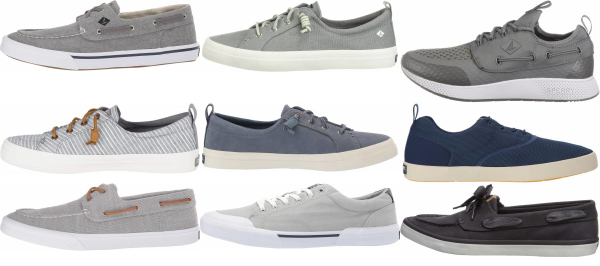 buy grey sperry  sneakers for men and women