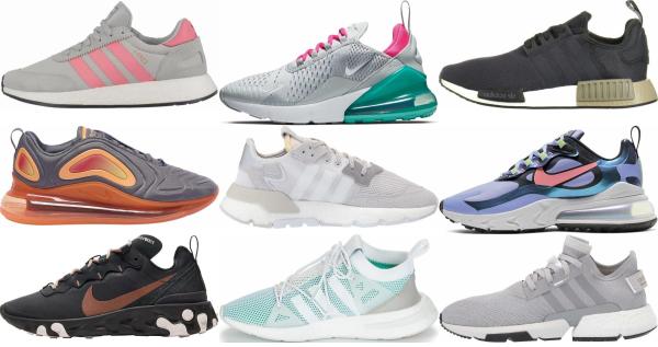 buy grey spring sneakers for men and women