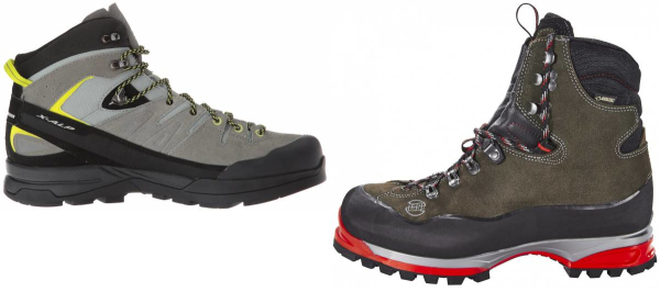 buy grey suede mountaineering boots for men and women