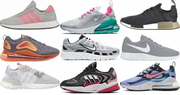 buy grey summer sneakers for men and women