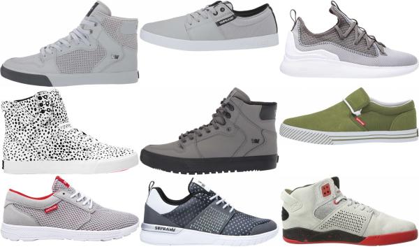 buy grey supra sneakers for men and women