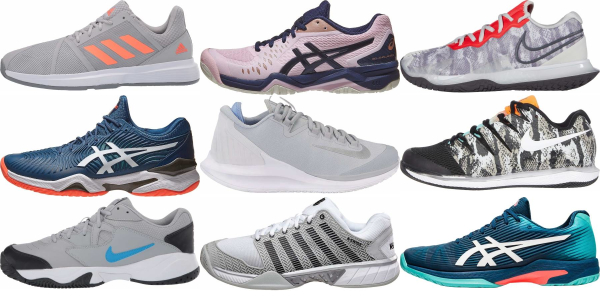 buy grey tennis shoes for men and women