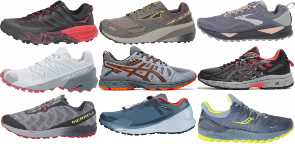 buy grey trail running shoes for men and women