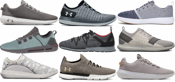 buy grey under armour sneakers for men and women