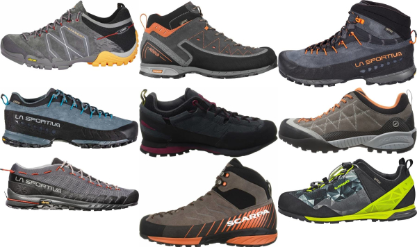 buy grey vibram sole approach shoes for men and women