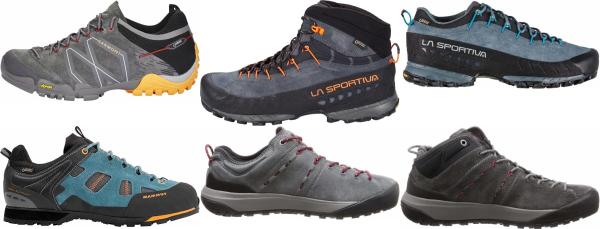 buy grey waterproof approach shoes for men and women
