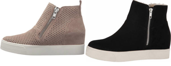 buy grey wedge sneakers for men and women