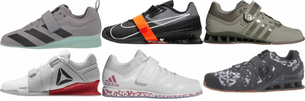 buy grey weightlifting shoes for men and women