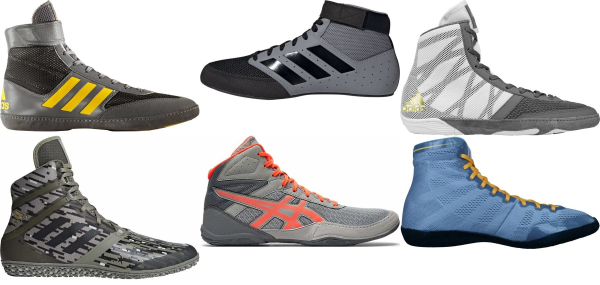 buy grey wrestling shoes for men and women
