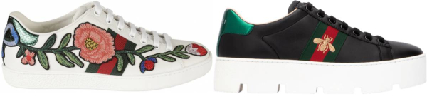 buy gucci embroidered sneakers for men and women