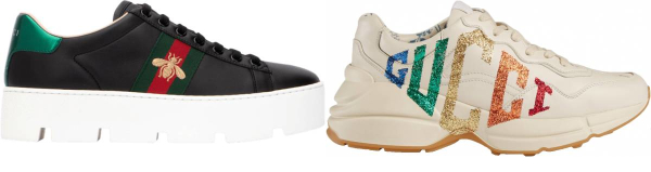 buy gucci retro sneakers for men and women