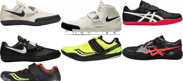 buy hammer throw track & field shoes for men and women