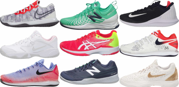 buy hard court tennis shoes for men and women