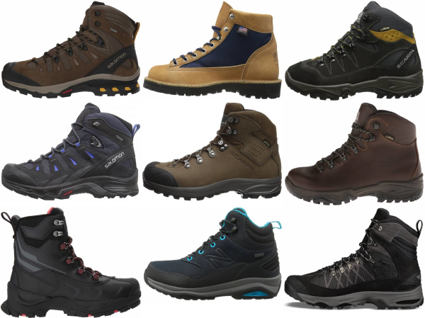 mens high top hiking boots