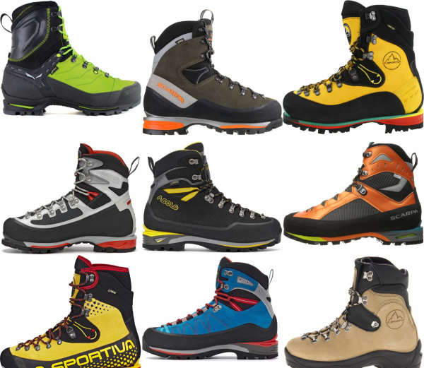 buy high cut mountaineering boots for men and women
