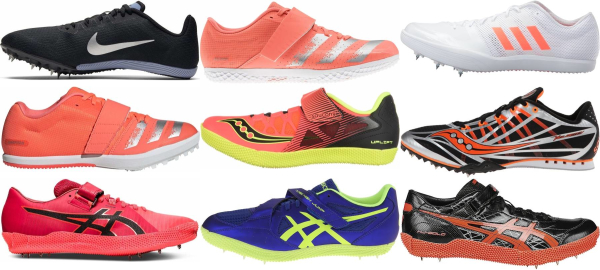 buy high jump track & field shoes for men and women