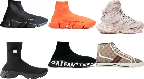 buy high top designer sneakers for men and women