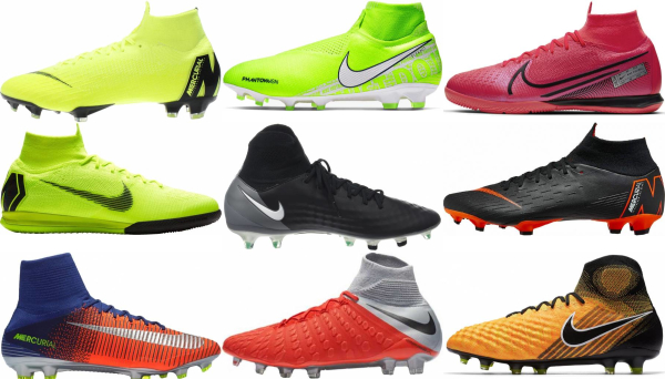 buy high top flyknit  soccer cleats for men and women