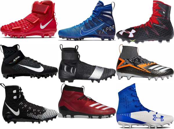 buy high football cleats for men and women
