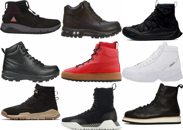 buy high top hiking sneakers for men and women