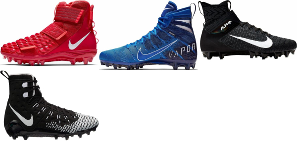 buy high nike football cleats for men and women