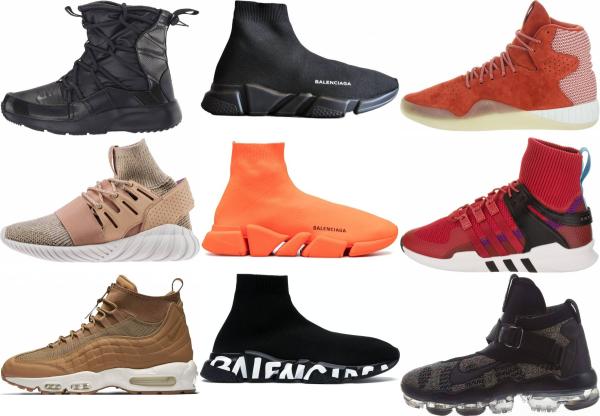 buy high top running sneakers for men and women