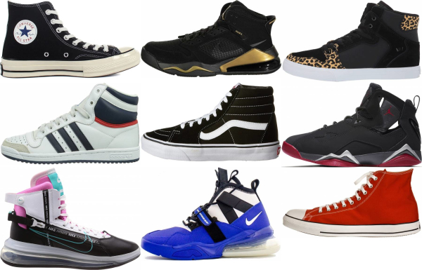 buy high top sneakers for men and women