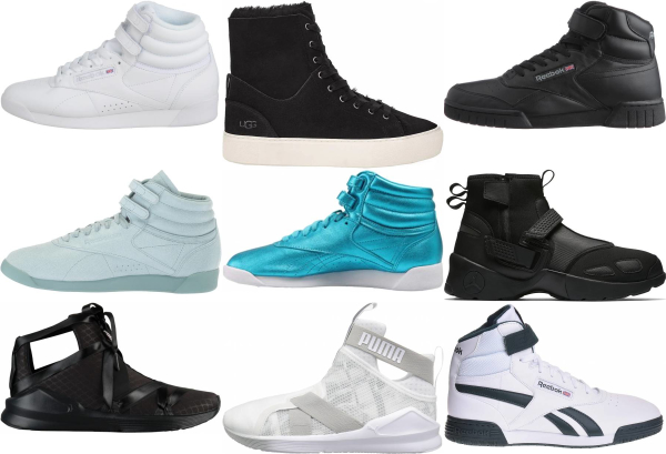 buy high top training sneakers for men and women