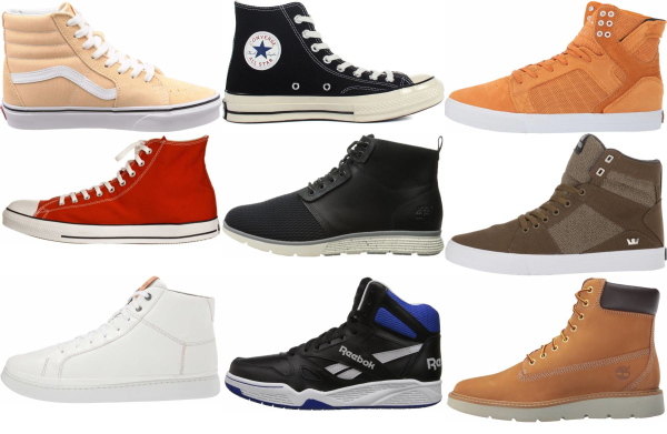 Save 32% on High Top Wide Sneakers (4