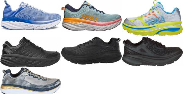 buy hoka one one bondi running shoes for men and women