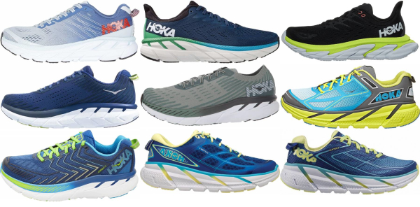 buy hoka one one clifton running shoes for men and women