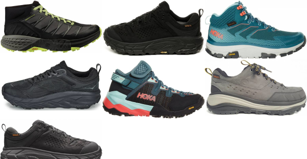 buy hoka one one hiking shoes for men and women