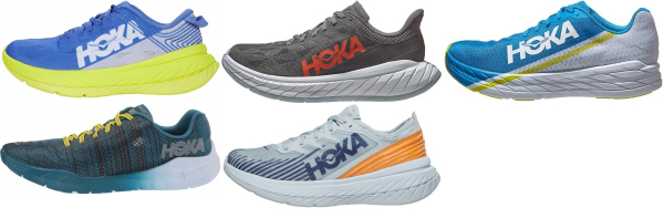 buy hoka one one race running shoes for men and women