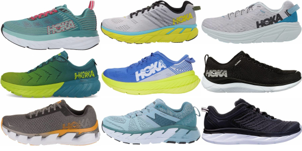 buy hoka one one road running shoes for men and women