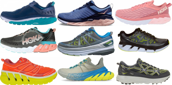 buy hoka one one stability running shoes for men and women